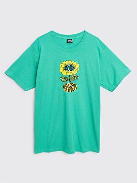 Stüssy Sunflower T-shirt Green