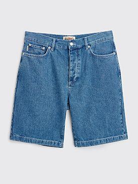 Stüssy Denim Big Ol' Jean Shorts Blue