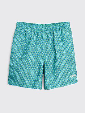 Stüssy Polkadot Water Shorts Teal