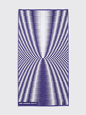Stüssy Psychedelic Beach Towel Purple