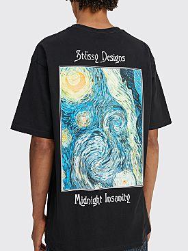 Stüssy Midnight Insanity T-shirt Black