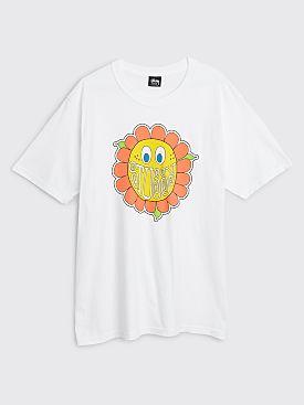 Stüssy Happy Flower T-shirt White