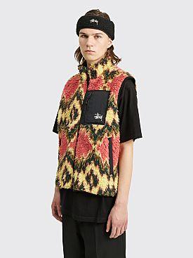 Stüssy Fillmore Sherpa Vest Mustard