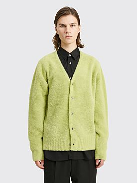 Stüssy Shaggy Cardigan Lime
