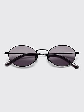 Sun Buddies Aaliyah Sunglasses Black / Clear Grey