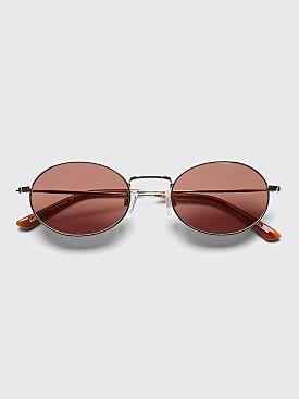 Sun Buddies Aaliyah Sunglasses Silver / Guinness