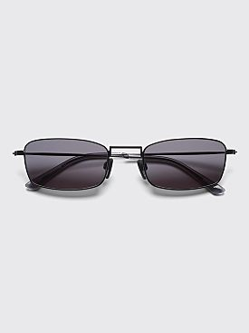 Sun Buddies E-40 Sunglasses Black / Clear Grey