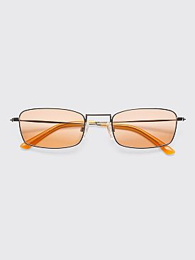 Sun Buddies E-40 Sunglasses Silver / Milky Orange