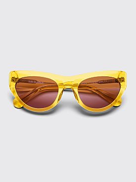 Sun Buddies Edgar Sunglasses Clear Yellow