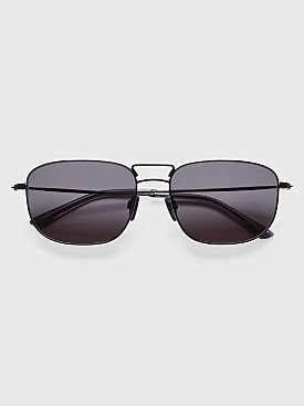 Sun Buddies Giorgio Sunglasses Black / Clear Grey