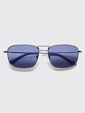 Sun Buddies Giorgio Sunglasses Silver / Moody Blues