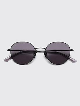 Sun Buddies Ozzy Sunglasses Black / Clear Grey