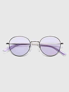 Sun Buddies Ozzy Sunglasses Silver / Purple Rain
