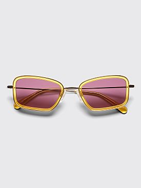 Sun Buddies River Sunglasses Gold / Clear Yellow