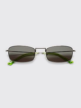 Sun Buddies E-40 Sunglasses Silver / Gremlins Green