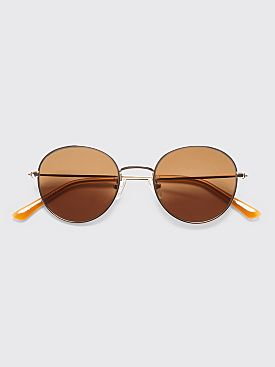Sun Buddies Ozzy Sunglasses Gold / Cola
