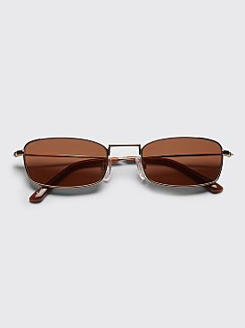Sun Buddies E-40 Sunglasses Gold / Brown