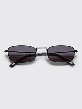 Sun Buddies E-40 Sunglasses Black / Transparent Grey