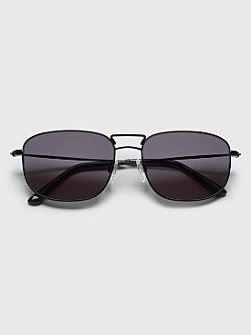 Sun Buddies Giorgio Sunglasses Black / Transparent Grey