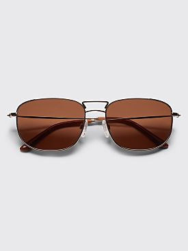 Sun Buddies Giorgio Sunglasses Gold / Brown