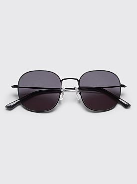 Sun Buddies Helmut Sunglasses Black / Transparent Grey