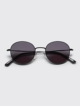 Sun Buddies Ozzy Sunglasses Metal Black / Transparent Grey