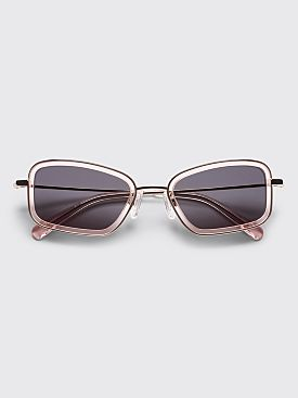 Sun Buddies River Sunglasses Gold / Rose Water
