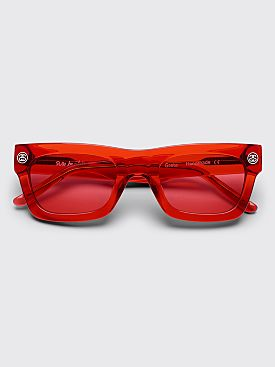 Sun Buddies x Stüssy Greta Sunglasses Red