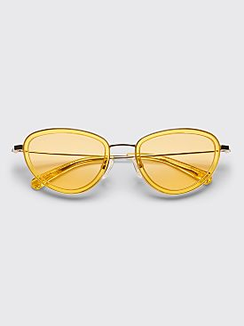 Sun Buddies x Stüssy Left Eye Sunglasses Yellow