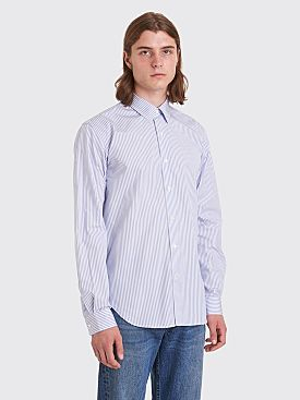 Sunflower Dan Shirt Stripe White / Blue