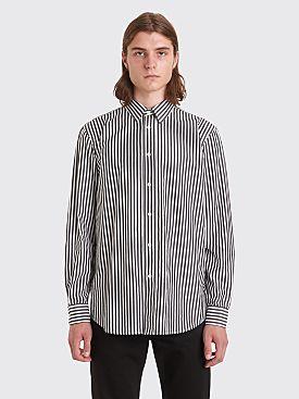 Sunflower Classic Shirt Wide Stripe White / Black