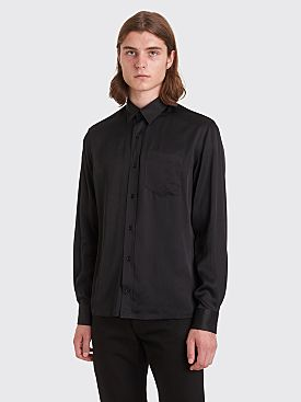 Sunflower Type Rayon Shirt Black