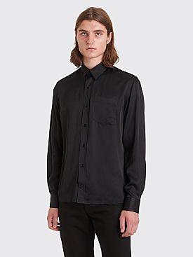 Sunflower Type Rayon Shirt Black