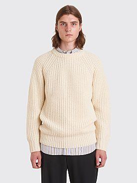 Sunflower Sailor Wool Sweater Off White