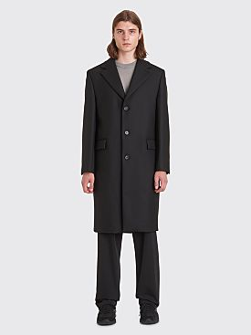 Sunflower Clean Wool Coat Black