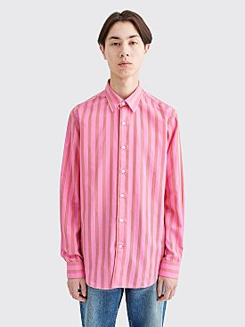 Sunflower Dan Shirt Wide Stripe Pink