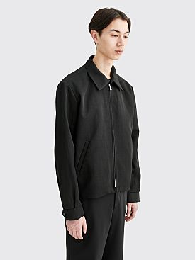 Sunflower Short Linen Jacket Black
