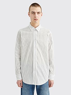 Sunflower Classic Shirt Stripe White / Silver