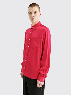 Sunflower Type Shiny Shirt Pink