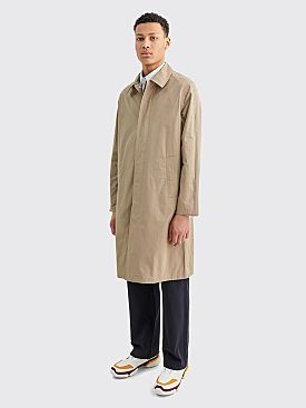 Sunflower Long Tech Storm Coat Sand