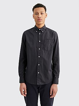 Sunflower B.D Shirt Washed Ripstop Black