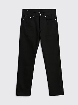 Sunflower Straight Fit 5005 Jeans Raw Black