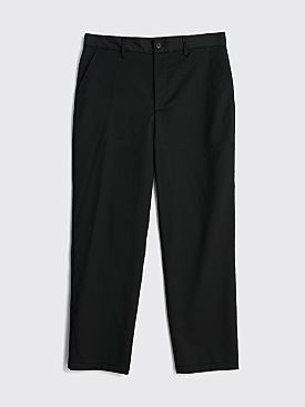 Sunflower Soft Relaxed Wool Trousers Black