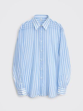 Sunflower Dan Shirt Blue White Stripe