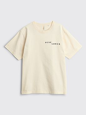 Sunflower Line T-shirt Pale Yellow