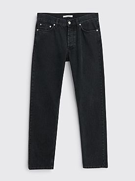 Sunflower Straight Jeans Washed Black