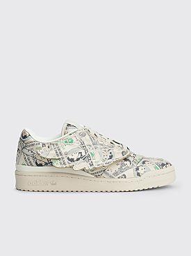 adidas x Jeremy Scott Forum Money Low Clear Brown / Off White