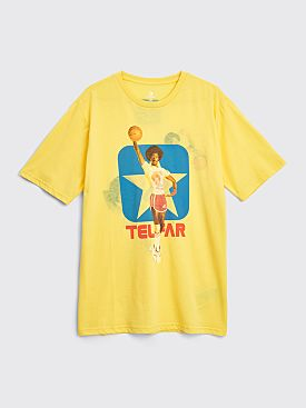 Converse x Telfar Reversible Tee Yellow Cream