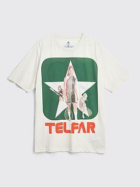 Converse x Telfar Reversible Tee Egret