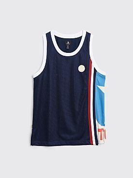 Converse x Telfar Basketball Jersey Black Iris